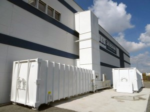 Referenz: Schum in Dettelbach, Presto Anlage SHD2500 mit Abwurfschacht, stationär